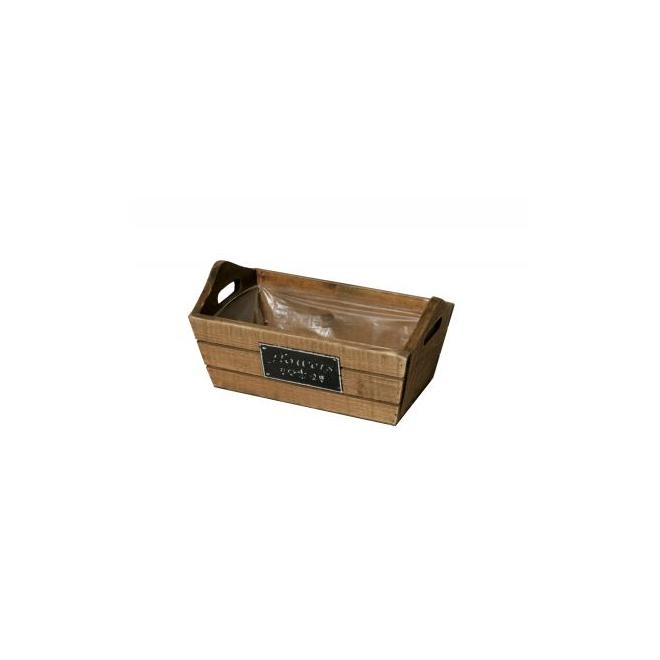 Caissette en bois et ardoise