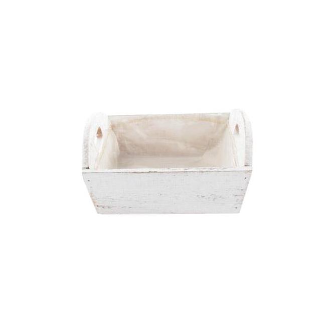 Caissette en bois blanc