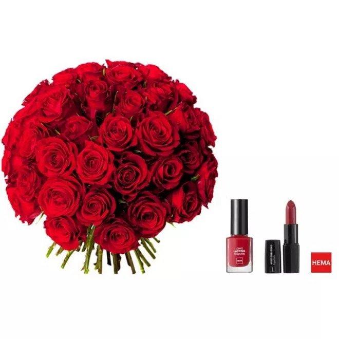 Le Magnifique - Bouquet de roses rouges