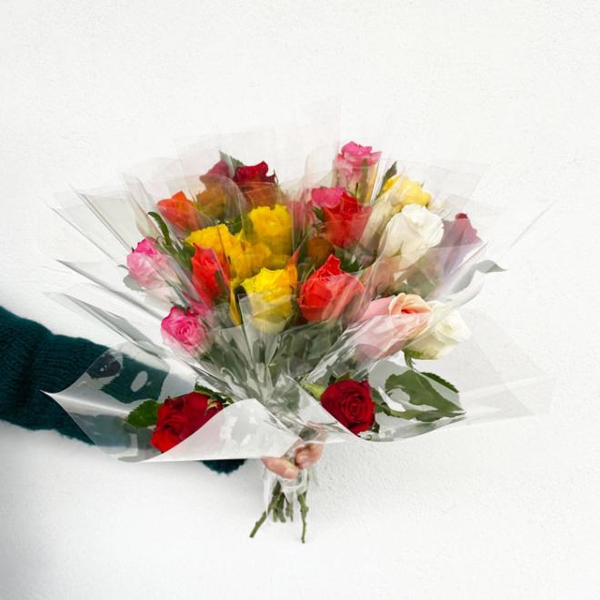 Rose à l'unité - couleurs variées - France Fleurs