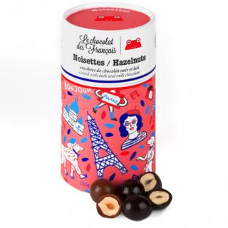 Noisettes enrobées de chocolat (150gr)