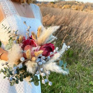 Bouquet de mariée Line