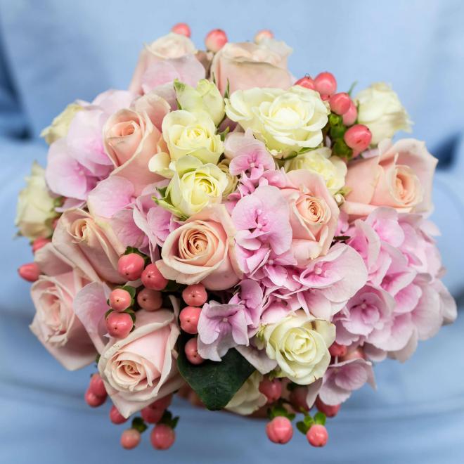 Bouquet de mariée Justine