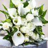 Bouquet de mariée Calla Chic - France Fleurs