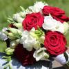 Bouquet de mariée Champêtre pêche