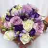 Bouquet de mariée Joli Parme - France Fleurs