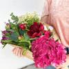 Brassée de fleurs fraîches anti gaspi