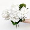 Hortensia blanc (5 tiges)