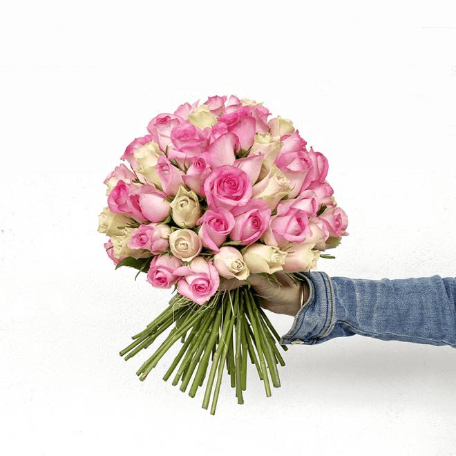 Bouquet De Roses Sur Mesure Livraison A La Date Choisie