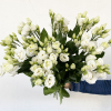 Lisianthus blanc (10 tiges)