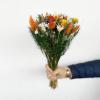 Bouquet sec orange