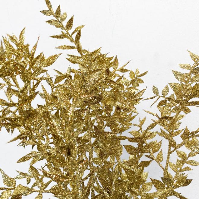 Ruscus séché doré (5 tiges)