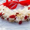 Couronne de fleurs Santa Baby