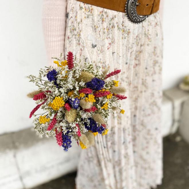 Bouquet séché Josette
