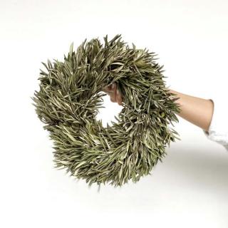 Couronne d'olivier séché