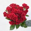 Rose branchue rouge - rose ramifiée rouge - France Fleurs