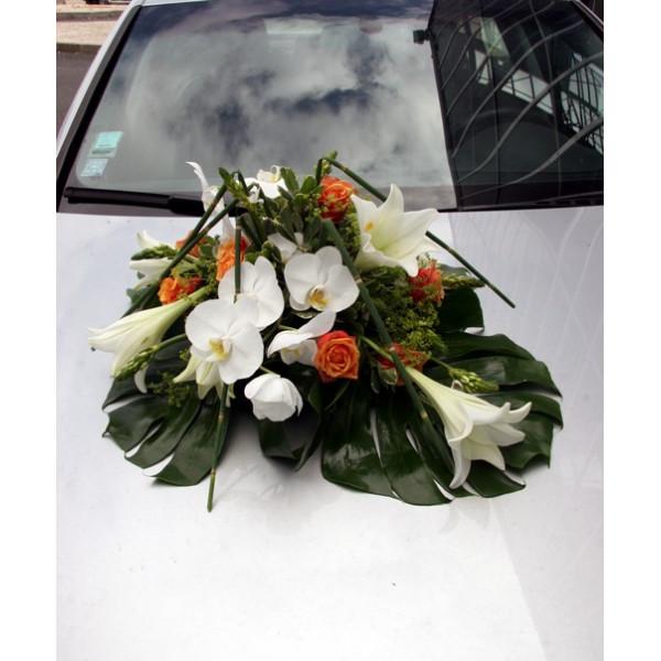 Images Decoration De Voiture A Abidjan : Décoration voiture mariage fleuriste france