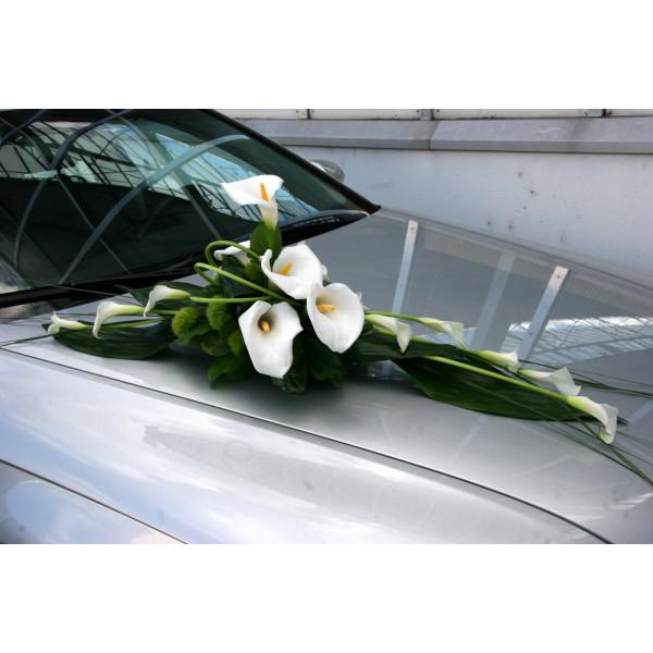 D coration voiture mariage fleuriste mariage france - Prix decoration voiture mariage fleuriste ...