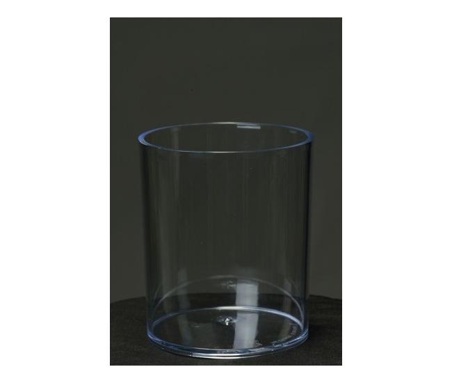 contenant en plastique transparent cylindrique contenant berel france fleurs. Black Bedroom Furniture Sets. Home Design Ideas