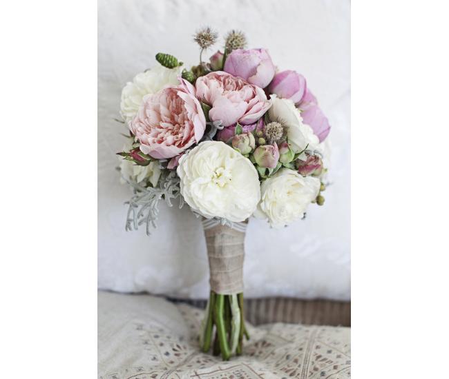 bouquet de mari e 49 fleurs mariage france fleurs. Black Bedroom Furniture Sets. Home Design Ideas