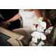 Support bouquet mariée posit en situation