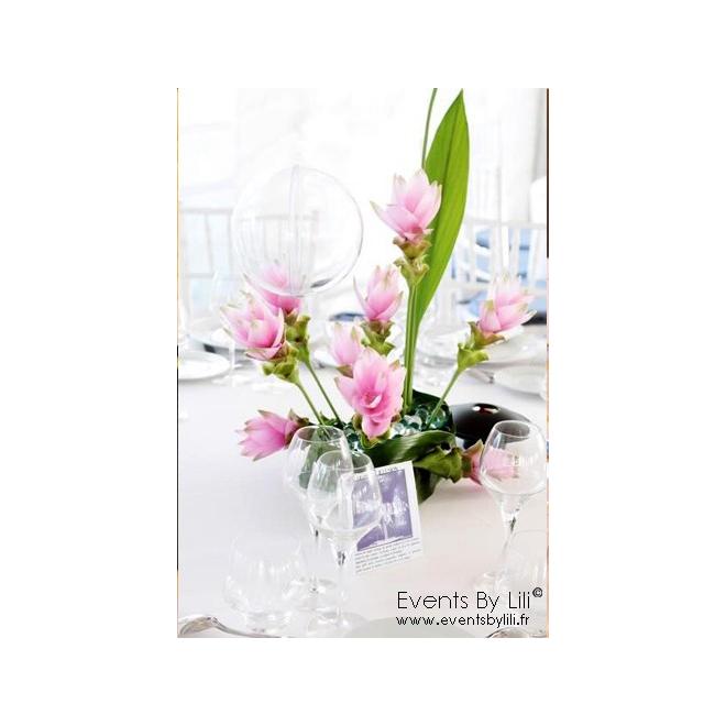 Centre de table mariage 23 - France Fleurs