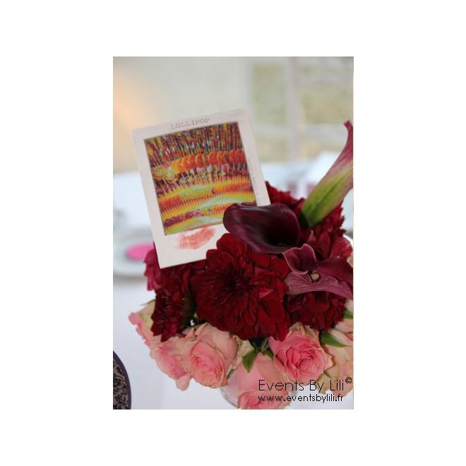 Centre de table mariage 151 - France Fleurs