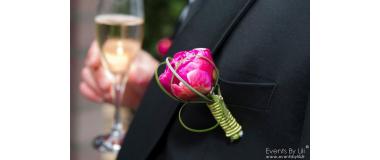 Boutonnière mariage 1 - France Fleurs