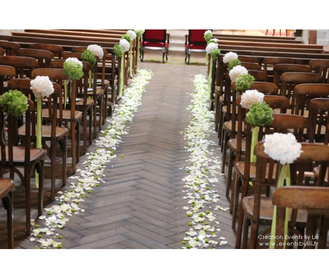D coration d 39 glise 20 france fleurs - Decoration eglise mariage ...