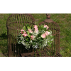Centre de table Romantique rose