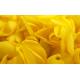Pétales de roses jaunes