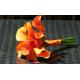 Bouquet demoiselle d'honneur Moderne orange