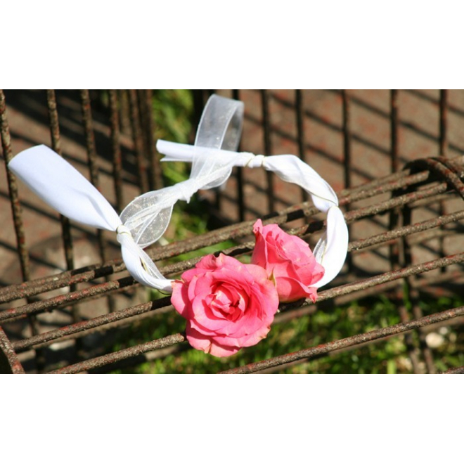 Bracelet rose branchue rose