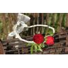 Bracelet rose branchue rouge