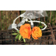 Bracelet rose branchue orange