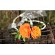 Bracelet rose branchue orange