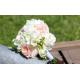 Bouquet demoiselle d'honneur Champêtre rose pâle