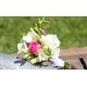 Bouquet demoiselle d'honneur Champêtre fushia