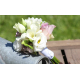 Bouquet demoiselle d'honneur Champêtre parme