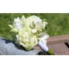 Bouquet demoiselle d'honneur Champêtre blanc