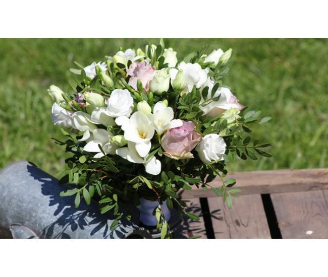 Centre De Table Champ Tre Fleurs Mariage My Wedding Box