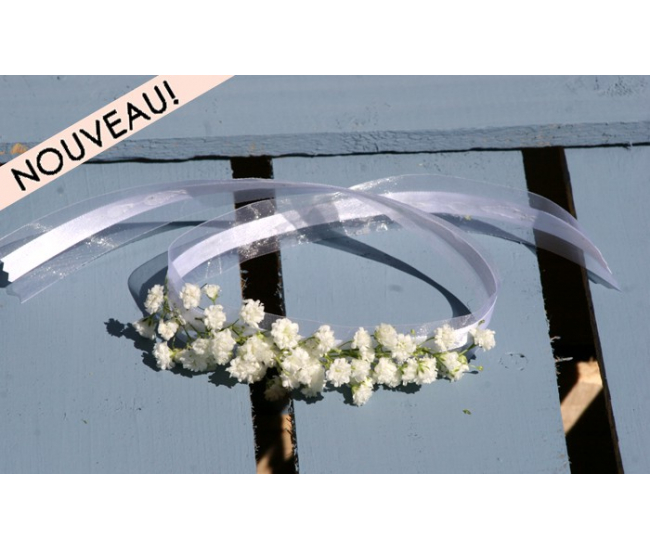bracelet gypsophile fleurs mariage my wedding box. Black Bedroom Furniture Sets. Home Design Ideas