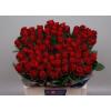 Rose Rouge Red Ribbon - France Fleurs