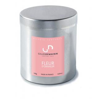 Bougie parfumée Fleurs d'Oranger Gilles Dewavrin  - France Fleurs