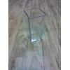 Vase plastique transparent (25x12x12cm)