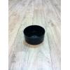 Contenant noir (15cm x 6.5cm)
