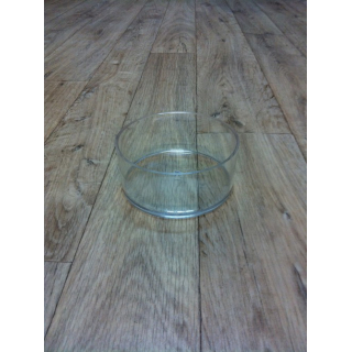 Contenant rond plastique (15cm x 6.5cm)