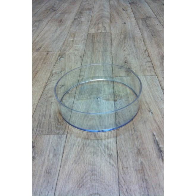 Coupe cylindrique plexiglas crystal diam 25 cm accessoire fleurs france fleurs - Couper du plexiglas ...