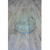 Contenant rond tranparent (25cm x 6.5cm)