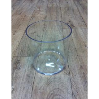 Contenant rond plastique (15cm x 15cm)